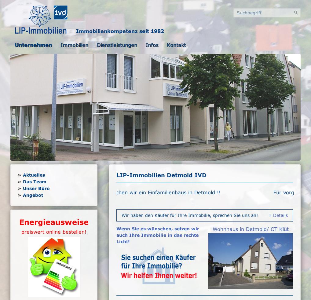 Immobilienmakler In Detmold immobilien in detmold horn bad meinberg
